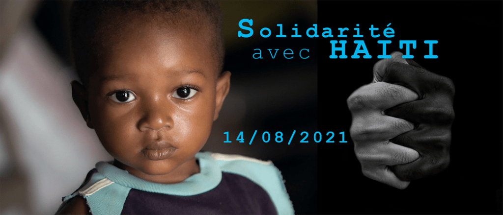 solidarité haiti tremblement terre